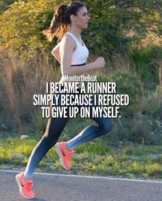 I refused to give up on myself