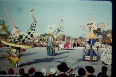Carnival in Valletta. Photos of Malta taken between 1940-1970