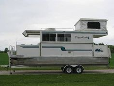 Houseboat with Trailer - 28' in Other Boats | eBay Motors