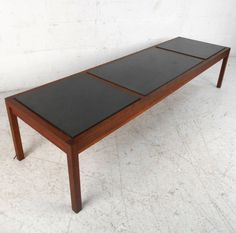 Coffee Table HEIGHT:	14.5 in. (37 cm) WIDTH:	5 ft. 6 in. (168 cm) DEPTH:	19 in. (48 cm)