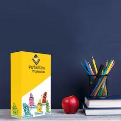 😄Happy Crayons Box. #designinspiration #welovedaily #packagingdesign #packaging #productpackaging #packagingdesigner #packagingideas #packagedesign #brandidentity #corporateidentity #designagency #packaginglove #packagingoftheworld #bestofpackaging #rebrand #worldbranddesign #brandingagency #packagingbox #boxpackaging #customepaperbag Box Packaging, Packaging Design, Branding Design, Corporate Identity, Brand Identity, Crayon Box, Branding Agency, Design Agency, Crayons