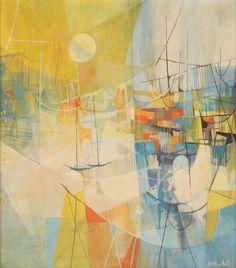 Doris A. White, Untitled, ca. 1960, oil on canvas