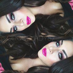 Celeste @cirquelady87 | Websta (Webstagram)@limecrime pink velvet