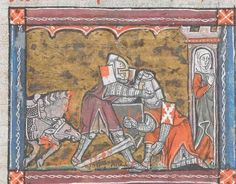 14th Century, Knights, Renaissance, Medieval, Miniatures, France, Search, Projects, Painting
