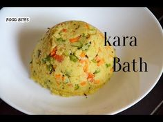 Khara bath is smilar to upma but whereas khara bath made with vegetables & sambhar or vangi bath or bisibele masala powder. Bath Recipes, Karnataka, Kara, Breakfast Recipes, Snacks, Make It Yourself, Vegetables, Ethnic Recipes, Youtube