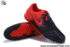 Low Price Black Red Nike5 Bomba Football Shoes On Sale