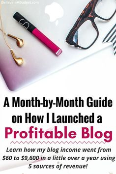 Learn how this blogger started a profitable blog. She is sharing how she made extra money blogging. She started a blog part time and it quickly turned into a full time job. Learn how she created a profitable blog so you can too!