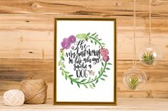 Best Thing with Dogs Printable Art, Typography, Hand Lettering, Lettering by ecriredesign on Etsy