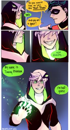 Danny phantom hentai comic strips thumb