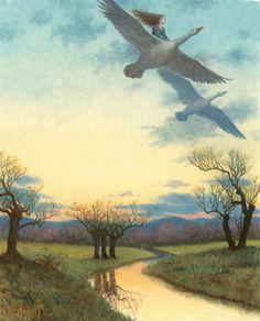 Ruth Sanderson -- Grey Goose and Gander