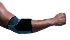 De Rehband elleboogbandage 7722 heeft een hoge bewegingsvrijheid door de uitsparing in de mediale zijde. Pijnverlichtend bij overbelasting of ontsteking. Geschikt voor racketsporten en golf.