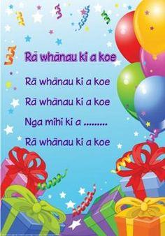 Ra Whanau Ki a koe - try singing happy birthday in te reo Maori this Maori… Birthday Songs, Singing Happy Birthday, Maori Songs, Waitangi Day, Learning Stories, Happy Birthday Posters, Autism Learning, Maori Designs, Maori Art
