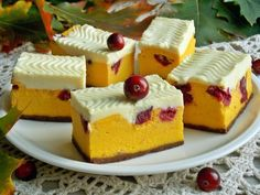 Їжа - Page 4 of 64 Cake Recipes, Dessert Recipes, Mousse Cake, Polish Recipes, Mini Cakes, Yummy Cakes, Thanksgiving Recipes, Food To Make, Food And Drink