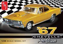 AMT 876 1:25 Scale Model Kit - 1967 Chevelle Pro Street Sealed