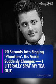 Phantom Of The Opera fans are in for a real treat. As soon as the first few notes start, that iconic melody takes you away. Who could possibly say no to this Phantom performance? Very good and true to the movie, too. I Love Music, Kinds Of Music, Gaston Leroux, Dance Routines, Phantom Of The Opera, Music Videos, Music Gif, Inspire Me, The Voice