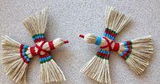 Jute Crafts Ideas Diy // How To Make Jute Birds // Home Decoration Ideas Handmade Crafts String Crafts, Jute Crafts, Handmade Crafts, Diy And Crafts, Crafts For Kids, Arts And Crafts, Paper Crafts, Corn Husk Crafts, Yarn Dolls