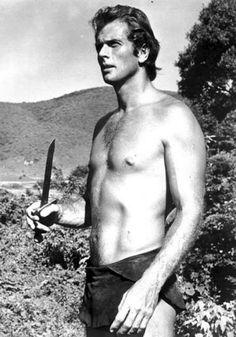 Ron Ely...Tarzan in 1967.