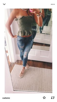 Trendy outfits for summer outfits casual fashion ideas casual summer style Sexy Casual Style Looks Cute Summer Outfits, Outfits For Teens, Spring Outfits, Trendy Outfits, Summer Clothes, Women's Clothes, Teen Fashion, Fashion Outfits, Womens Fashion