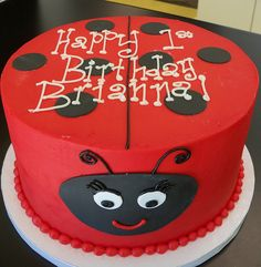 Lady bug cake by Retro Bakery in Las Vegas, via Flickr