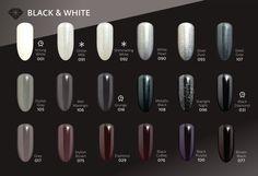 Semilac Black & White