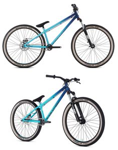 The Saracen Amplitude CR2 Mens Mountain Bike is ideal for people bitten by the dirt-jump bug but with not a huge amount of cash to splash.  The full 4130 cro-mo frame is built to take a beating but is light enough to master flips, whips and no-handers.  The RST Dirt 100mm travel fork, 3 piece cro-moly cranks and Tektro disc brakes mean it's ready for the next generation of dirt-jump super-heroes! Mens Mountain Bike, Mountain Biking, Bike Stuff, Bmx, Fork, 3 Piece, Motorcycles, Bicycle, Frame