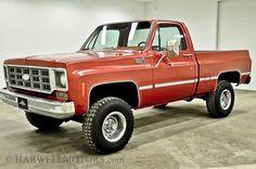 78 Chevy 4x4, 350/4speed
