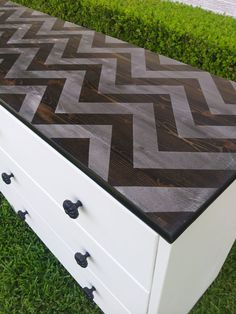 Hey, I found this really awesome Etsy listing at http://www.etsy.com/listing/154939147/chevron-dresser