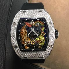 Richard Mille [NEW][LIMITED 20] RM 51-01 Tourbillon Tiger And Dragon Michelle Yeoh at HK$6,600,000. #RM #RICHARDMILLE #RICHARD_MILLE #TigerDragon #Tiger_Dragon #RMTigerDragon #RM_Tiger_Dragon #RICHARDMILLETigerDragon #RICHARD_MILLE_Tiger_Dragon #RM5101 #R