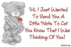 thinking of you poems and quotes for friends image quotes, thinking of you poems and quotes for friends quotations, thinking of you poems and quotes for friends quotes and saying, inspiring quote pictures, quote pictures Thinking Of You Images, Thinking Of You Today, Tatty Teddy, Teddy Bear Quotes, Special Friend Quotes, Friend Sayings, Hug Quotes, Daily Quotes, Teddy Bear Pictures