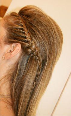 penteado de festa solto