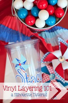 Do you have a Silhouette CAMEO or Portrait and want to learn how to personalize items such as tumblers...