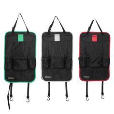 Auto Car Back Seat Organizer with Multi-Pocket Hanging Bag