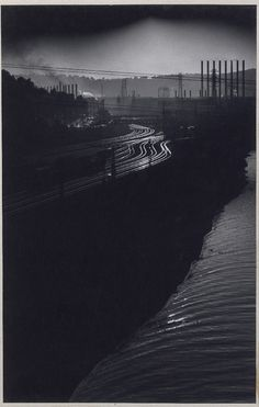 W. Eugene Smith - Railroad Tracks from US Steels Homestead Works link