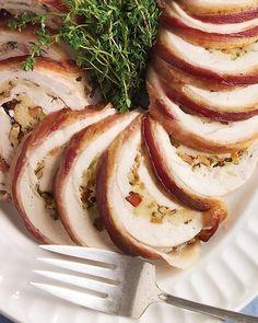 Emeril's Turkey Roulade | Recipe | Turkey Roulade, Turkey and Martha ...