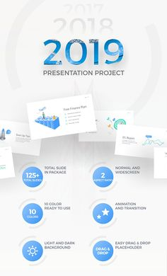 2019 project multipurpose powerpoint presentation template