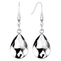 Silver Raindrops - Stainless Steel Drop Design Beautiful Earrings