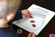 Very cool ideas!  The Pre-Writing Packet - 7 Hands-on Games. {Playdough to Plato}