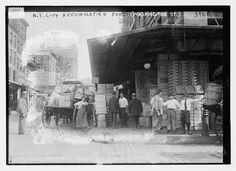 N.Y.C. accumulating food (Washington St.) (LOC)