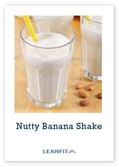 This is a kid-friendly delicious shake full of protein, fibre and calcium. Using almond milk, which is high in calcium and lower in calories than dairy milk, provides a creamy base for this smoothie.  Tip: This recipe may be suitable for individuals sensitive to lactose as whey proteins have less than a gram of lactose per serving. Protein Smoothies, Whey Protein, Almond Milk, Continue Reading, Glass Of Milk, Shake, Dairy, Banana, Kid