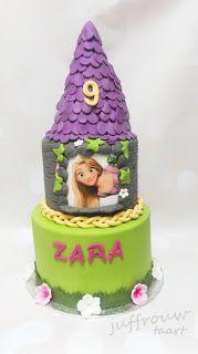 Juffrouw Taart: Rapunzel taart