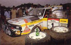 Blomqvist needed a few points to be sure of the 1984 drivers title, so he was sent to the Ivory Coast Rally, only six cars finished this gruelling African rally, it turned out to be the one and only win for the Sport in the WRC, Blomqvist taking the win and the drivers crown.
