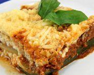 Zucchini TVP Lasagna (The Zone Diet Recipe) | Diet Plan 101