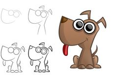 Learn how to draw funny cartoon animals from the farm using my simple…