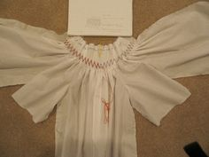 Sewing Through Life's Imperfections: Bishop Dress Smocking Practice for J's first Birthday with web links
