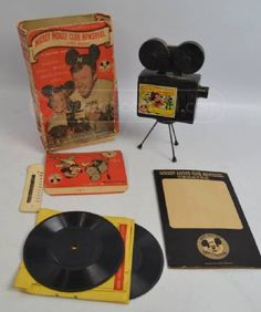 I have this and it still works Minnie Mouse Toys, Mickey Mouse Club, Vintage Mickey Mouse, Disney Mickey Mouse, Old Disney, Disney Toys, Disney Magic, Disney Movies, Disney Characters