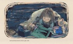 picture books on sleep:  Hannah's Night by Komako Sakai (2013).