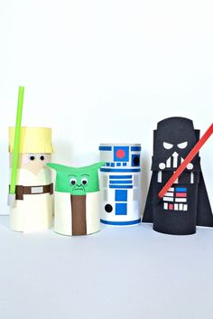 14 Fun Star Wars Crafts For Your Little Jedi
