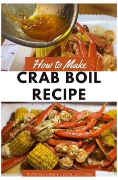 Cajun Seafood Boil, Seafood Boil Recipes, Seafood Dinner, Cajun Recipes, Shrimp Recipes, Sauce Recipes, Cooking Recipes, Seafood In A Bag, Shrimp And Crab Boil