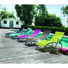 bain de soleil en aluminium hawai meubles pinterest. Black Bedroom Furniture Sets. Home Design Ideas