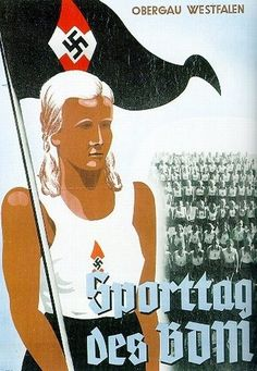 Hitler started the propaganda early, in schools, after schools, etc.  Scary, Common Core and there switching of history in books to make it fit their agenda. German poster for the league of German girls